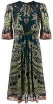 Etro paisley print dress - women - Silk/Polyamide/Polyester/Viscose - 40