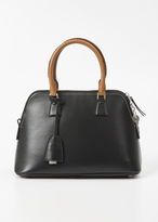 Maison Margiela black small leather 5ac handbag