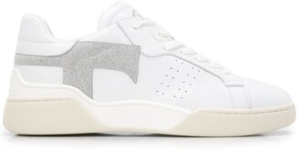 Tod's Felt-Patch High-Top Trainers