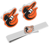 Cufflinks Inc. Men's Baltimore Orioles Cufflinks and Tie Bar Gift Set