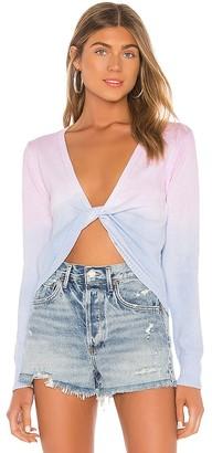 superdown Cecilia Twist Front Sweater