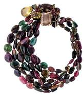 Iradj Moini Multistrand Tourmaline Necklace