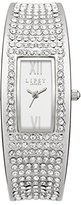 Lipsy Women's Quartz Watch with Silver Dial Analogue Display and Silver Alloy Bracelet LP119