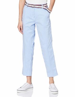 Tommy Hilfiger Women's Cotton Stretch Striped Slim Pant Jeans