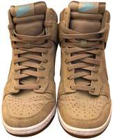 Nike Dunk Sky Beige Leather Trainers