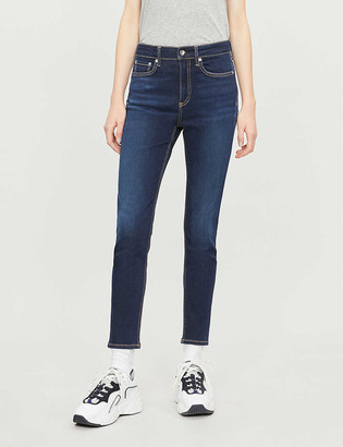 Rag & Bone Nina skinny high-rise jeans