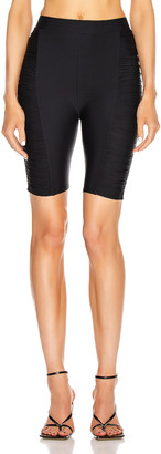 Alix Bolton Biker Short in Black | FWRD