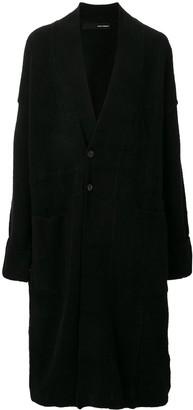 Isabel Benenato knitted midi cardi-coat