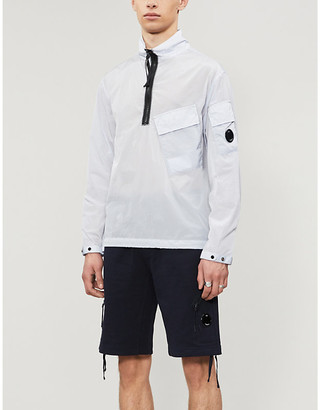 C.P. Company Lens-embellished cotton-jersey shorts