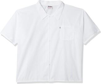 Uncommon Threads Unisex-Adults Plus Size Utility Shirt 5 Button