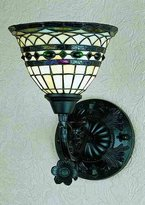 "Meyda Lighting 27390 8""W Tiffany Roman 1 Lt Wall Sconce"