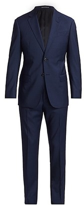 Emporio Armani Pin Stripe Virgin Wool Suit
