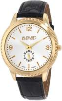 August Steiner Men's ASA820YG Swiss Quartz Classic Dress Strap Watch