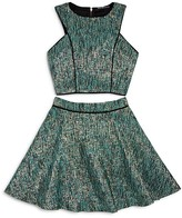 Miss Behave Girls' Shirley Top and Skirt Set - Sizes 8-16
