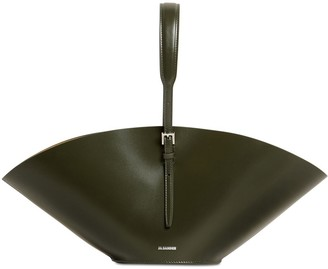 Jil Sander SM SOMBRERO LEATHER BAG