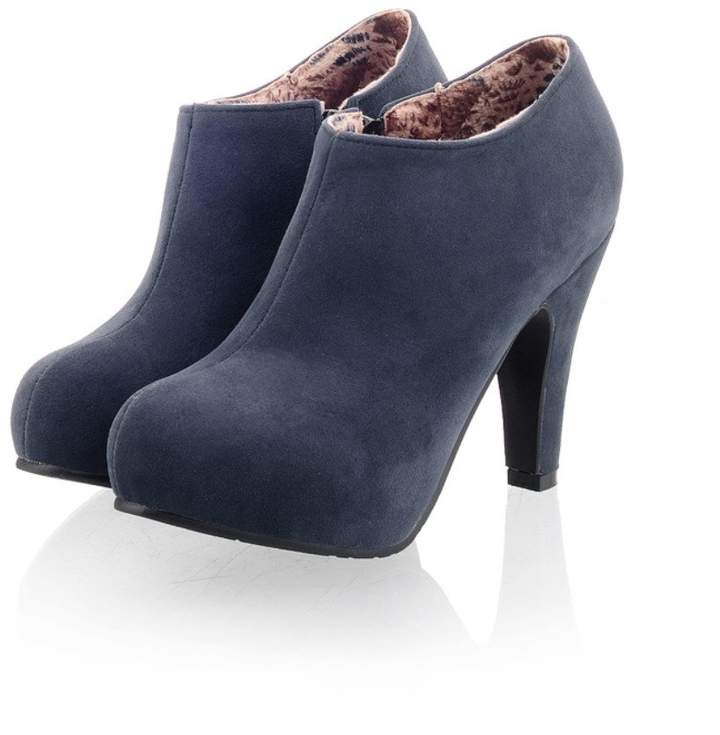 11282ff2f08 Blue Suede High High Boots - ShopStyle Canada