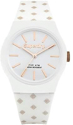 Superdry Unisex Urban Micro Silicone Strap Watch