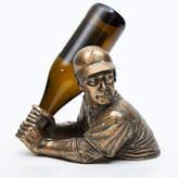Team Sports America MLB Bam Vino 1 Bottle Tabletop Wine Rack MLB Team: Atlanta Braves