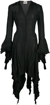 KHAITE Laura asymmetrical dress