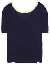 Prada Wool and cashmere knitted top