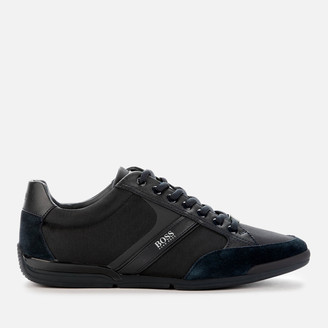 HUGO BOSS Men's Saturn Low Profile Trainers - Navy