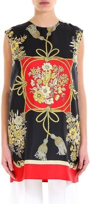 Gucci Printed Silk Tunic