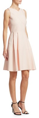 Roland Mouret Ellesfield Sleeveless Crepe Dress