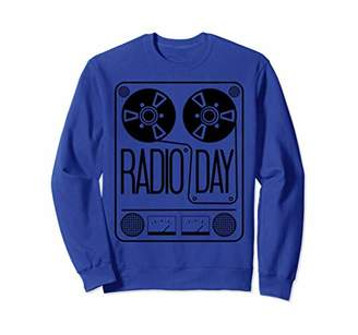 IDEA Radio Day Shirt - Best Father Uncle Grandpa Gift Sweatshirt