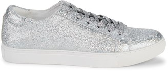Kenneth Cole Kam Iridescent Leather Sneakers