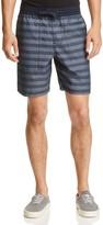 Original Penguin Striped Drawstring Shorts