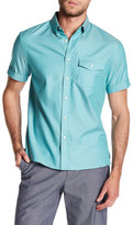 Perry Ellis Woven Short Sleeve Regular Fit Shirt