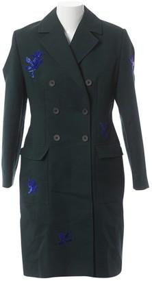 Jonathan Saunders Green Cotton Coats