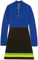 J.W.Anderson Color-Block Wool Mini Dress