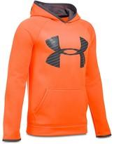 Under Armour Boys' Big Logo Fleece Storm Hoodie - Sizes S-XL