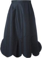 Societe Anonyme Circles hem midi skirt - women - Cotton/Linen/Flax - 40