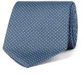 Drakes Drake's - 8cm Polka-Dot Silk-Jacquard Tie