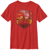 Fifth Sun Red Trout Jumping Tee - Boys