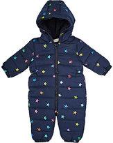 Stella McCartney Star-Print Hooded Snowsuit-NAVY