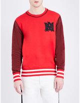Alexander Mcqueen Brand-logo Cotton-jersey Sweatshirt