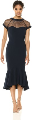 Maggy London Women's Illusion Cocktail Dress