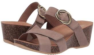 Dansko Susie (Taupe Milled Nubuck) Women's Sandals