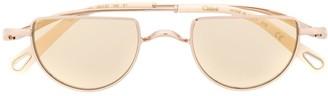 Chloé Ayla half-moon frame sunglasses