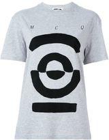 McQ by Alexander McQueen Tribal Markings print T-shirt