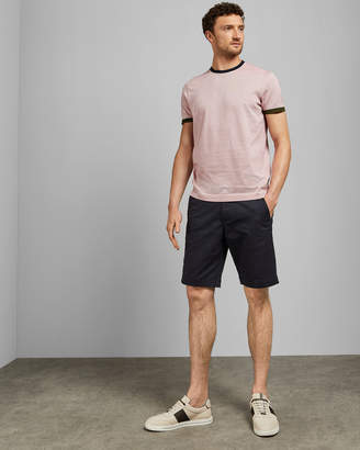 Ted Baker DELSOLE Striped cotton T-shirt
