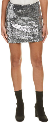 Lea & Viola Sequin Mini Skirt
