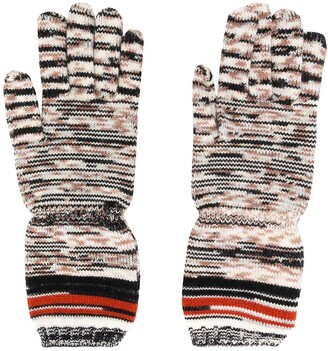 Missoni Embroidered Knitted Gloves