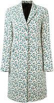 Paul Smith floral print coat