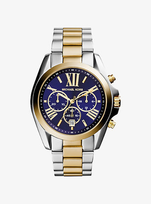 Michael Kors Oversized Bradshaw Two-Tone Watch - Two Tone