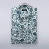 Liberty Art - Blue floral dress shirt