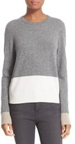 Equipment Women's Shirley Colorblock Cashmere Sweater